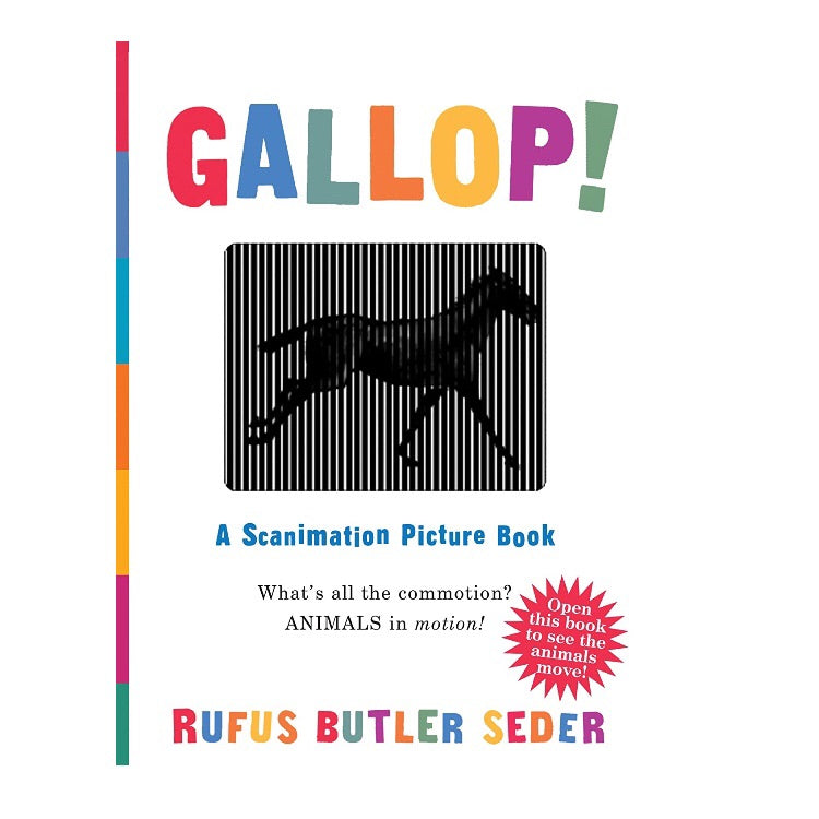 Gallop! Scanimation Picture Book