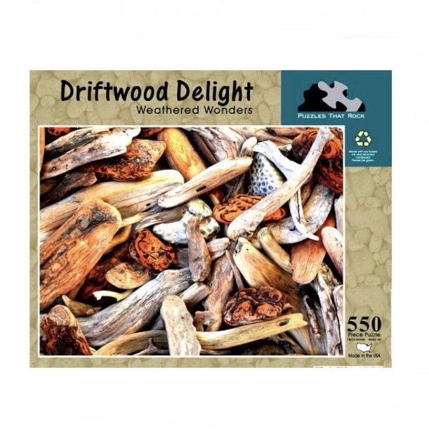 Driftwood Delight 550 pc Puzzle