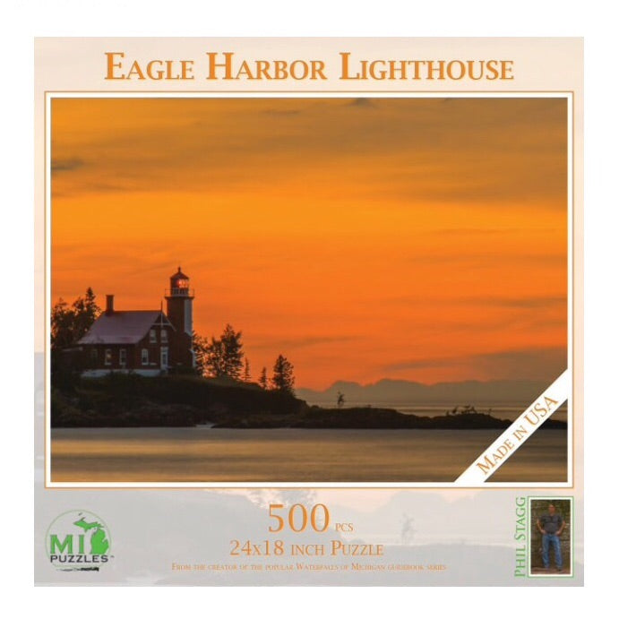 Eagle Harbor Lighthouse 500 piece puzzle