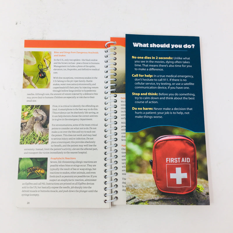 Outdoor Medicine Book