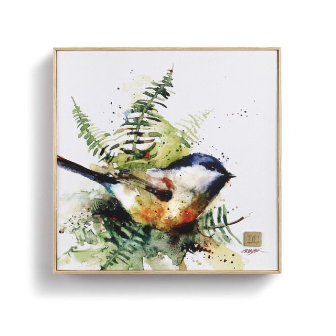 Spring Chickadee Wall Art