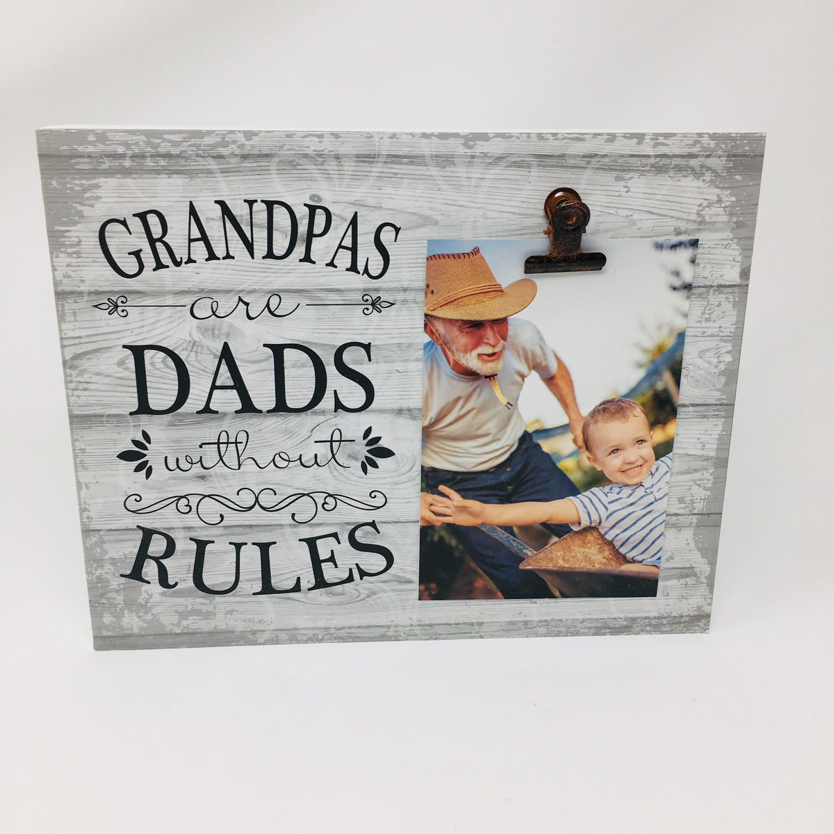 8x10 Wooden Clip Board Picture Frame