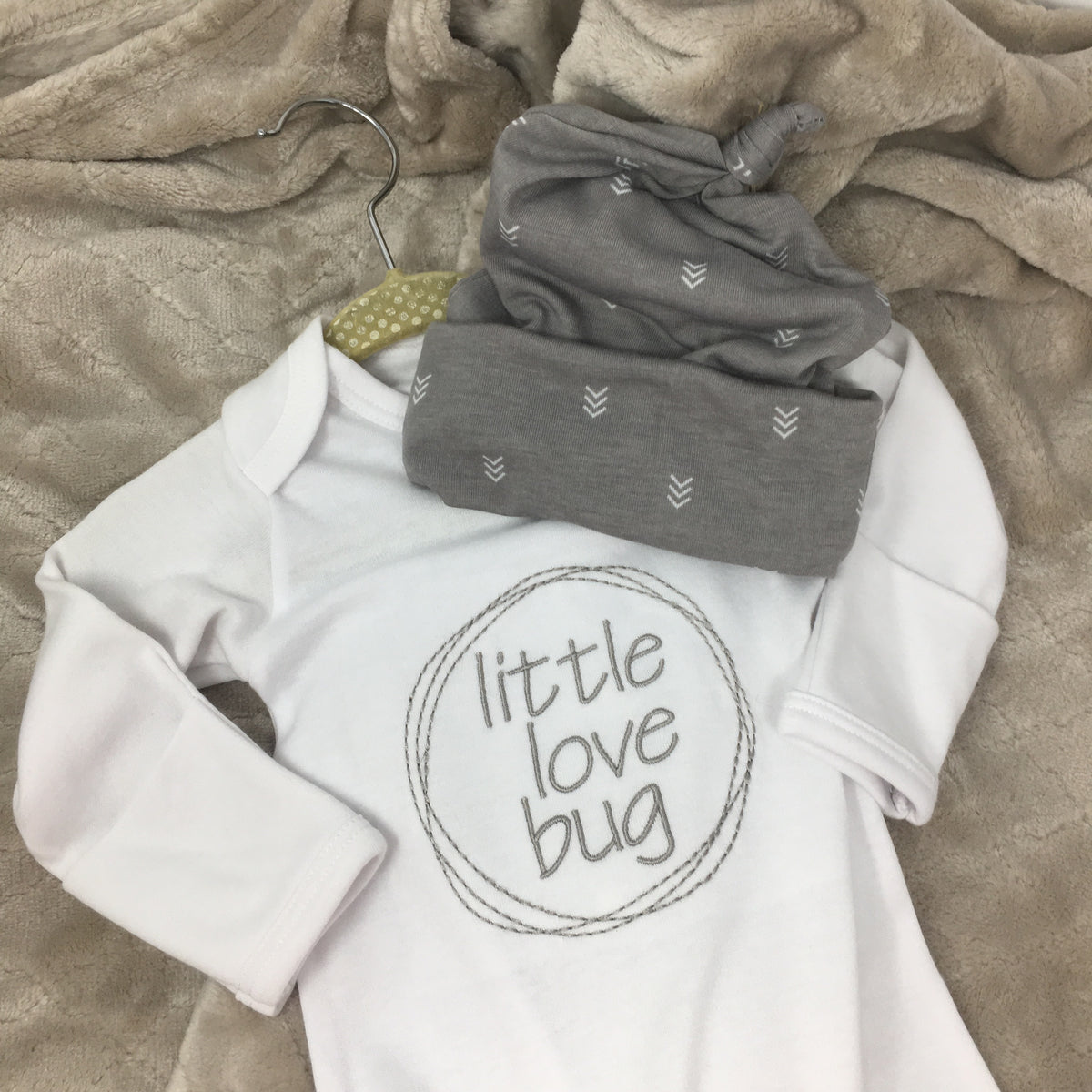 Boys Love Bug Infant Gowns