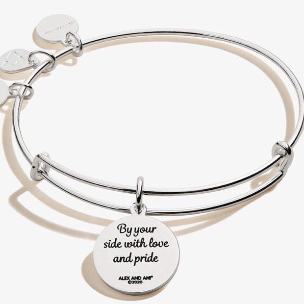 Because I Love You Granddaughter 'By Your Side' Bangle