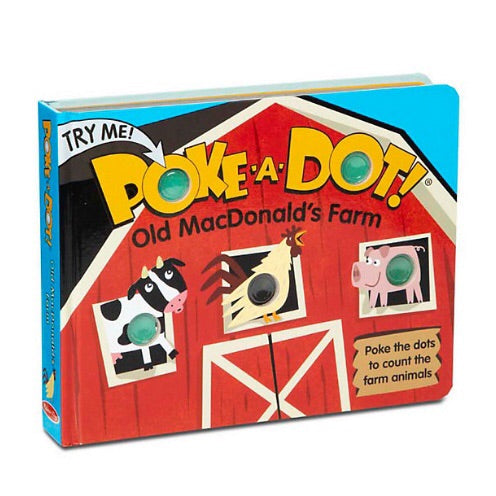 Poke-A-Dot Book Large