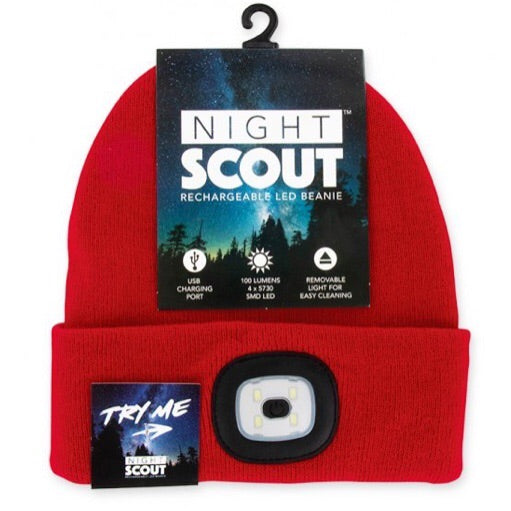Night Scout Rechargeable LED Hat