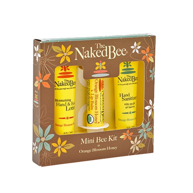 Mini Bee Kit Orange Blossom Honey