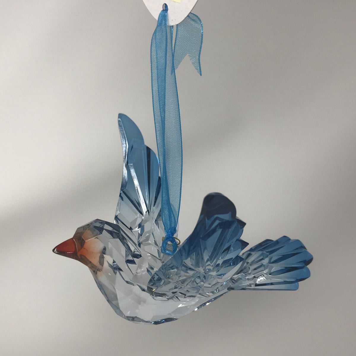 Acrylic Bluebird Ornament