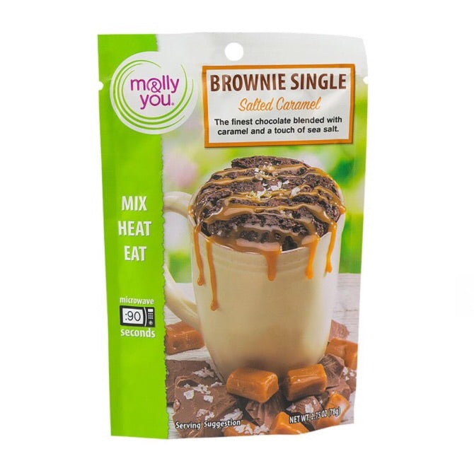 Brownie Singles Microwave Mix