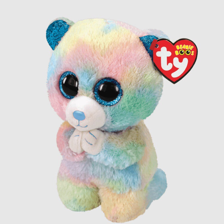 Hope - Prayer Bear Pastel Beanie Boo