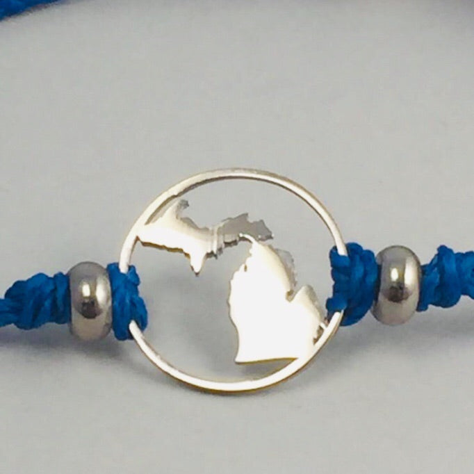 Michigan Pull Cord Anklet
