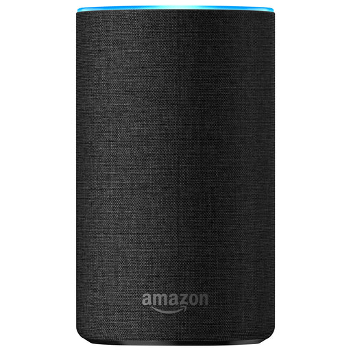 Amazon Echo with Alexa - English - Charcoal Fabric