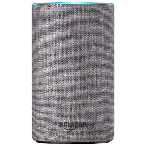 Amazon Echo with Alexa - English - Heather Grey Fabric