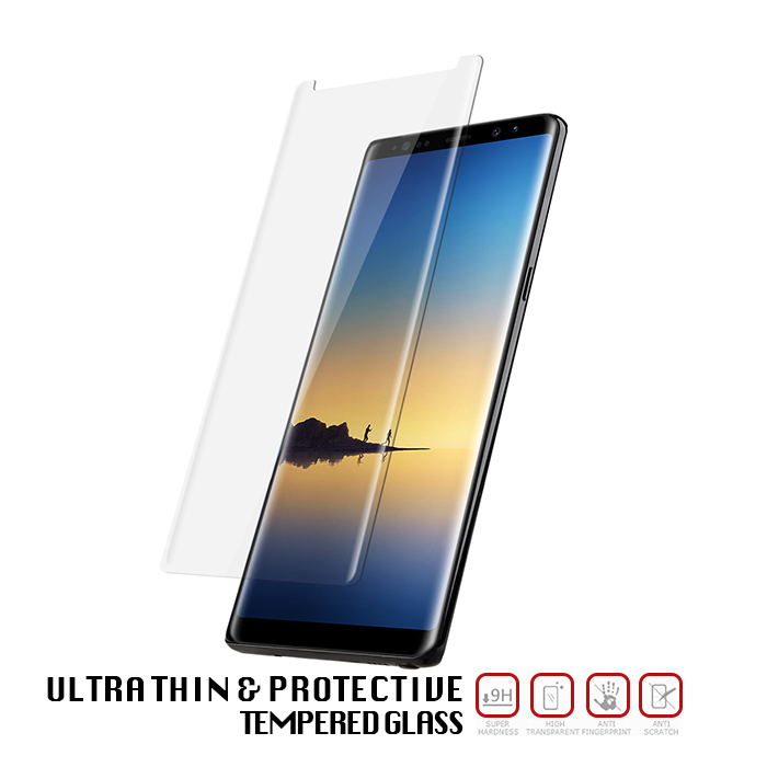 Samsung Galaxy Note 8 Tempered Glass - Screen Protection - 3 Pack
