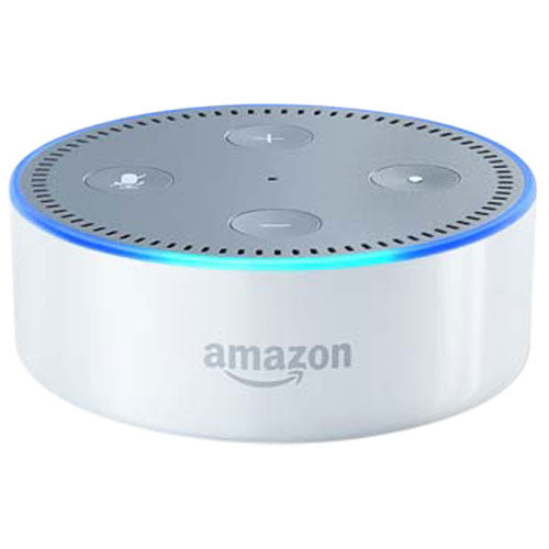 Amazon Echo Dot with Alexa - English - White