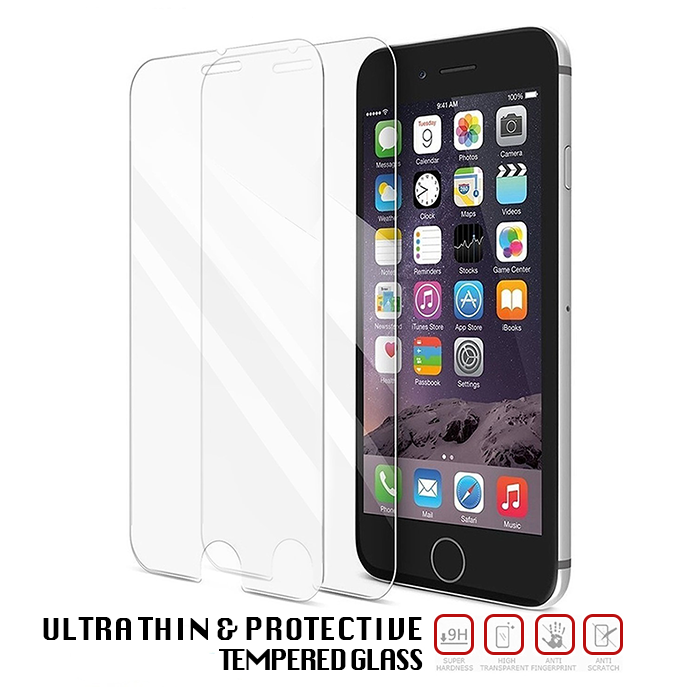 Apple iPhone 6 Tempered Glass - Screen Protection - 3 Pack