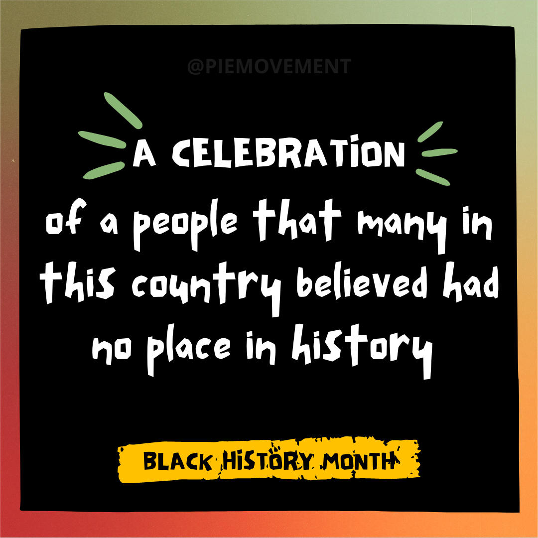 """Why is there no white history month?"" Here's Why."