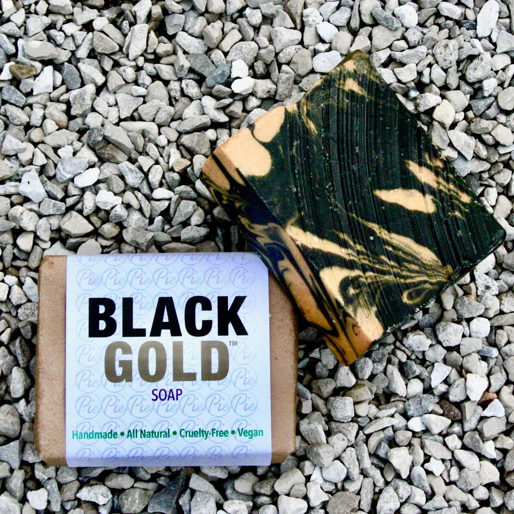 """Black Gold™"" Handmade Soap"
