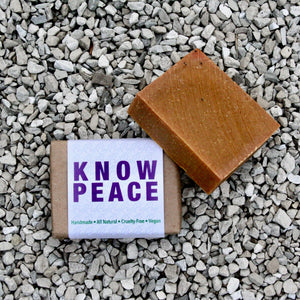 """Know Peace™"" Handmade Soap"