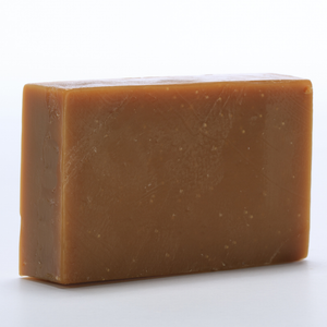 """Bruh"" (cedarwood and patchouli oil) handmade, all natural, vegan, cruelty-free soap with some fair trade ingredients"