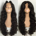 Virgin Brazilian Loose Wave Lace Frontal Wig