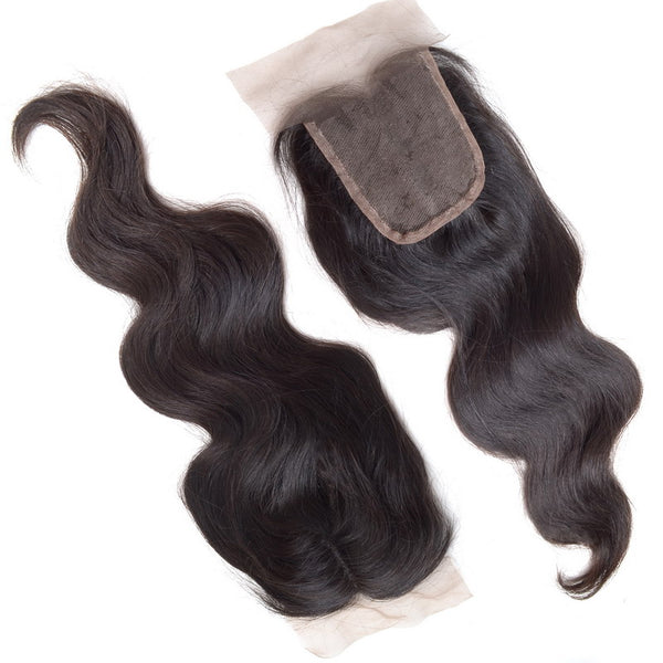 Virgin Brazilian Body Wave 4 x 4 Lace Closure