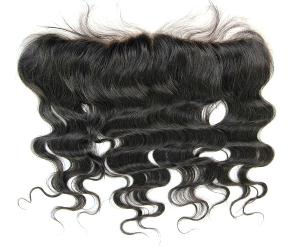 Pre-Plucked Virgin Brazilan Body Wave Lace Frontal