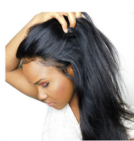 Pre- Plucked Virgin Brazilian Straight Lace 360 Frontal