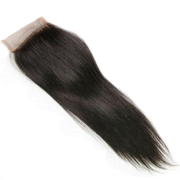 Virgin Malaysian Straight  4X4 Lace Closure