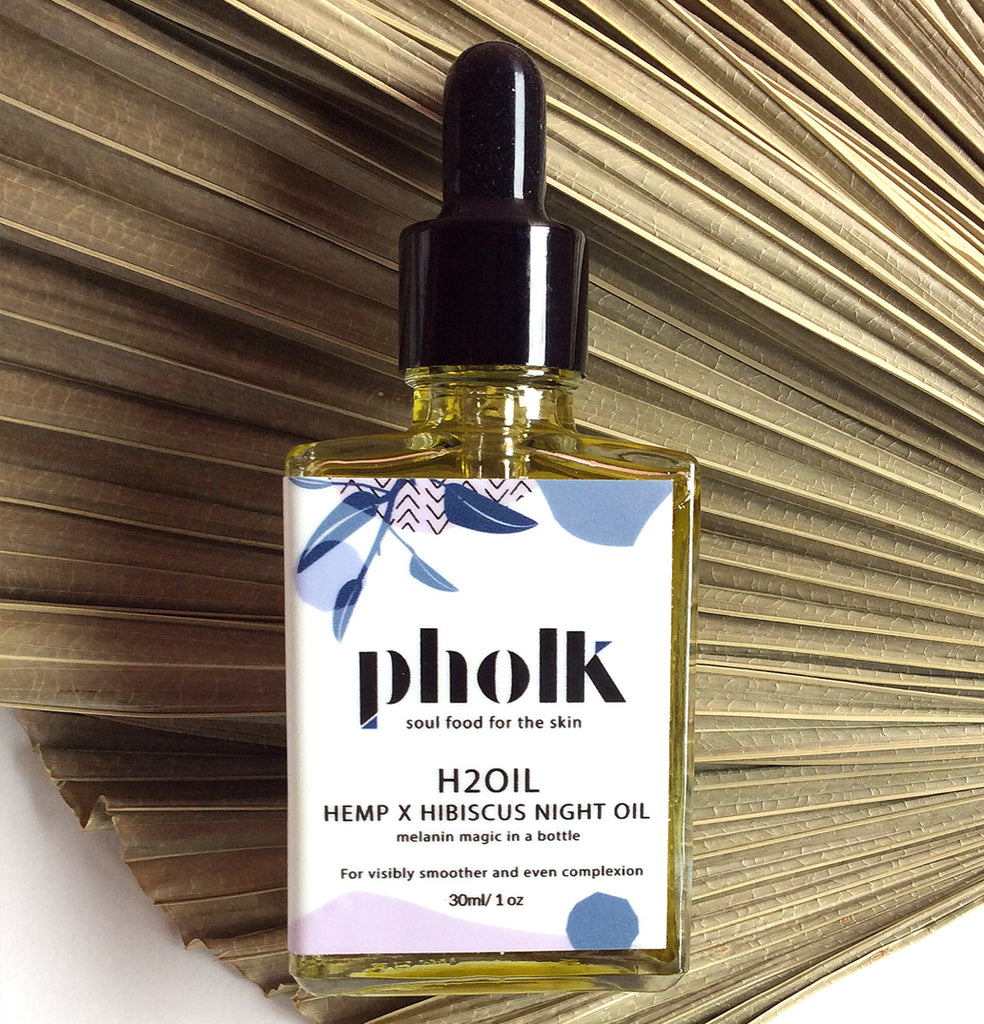 H2Oil Night Treatment Hemp x Hibiscus Night Oil