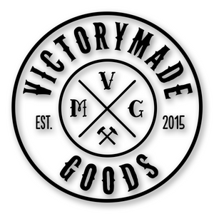 Victorymade Badge Die Cut Sticker Black