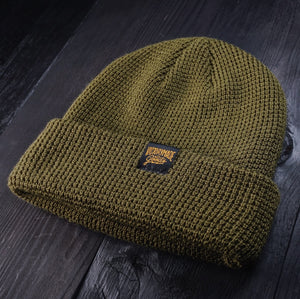 VMG FLAGSHIP BEANIE - ARMY GREEN