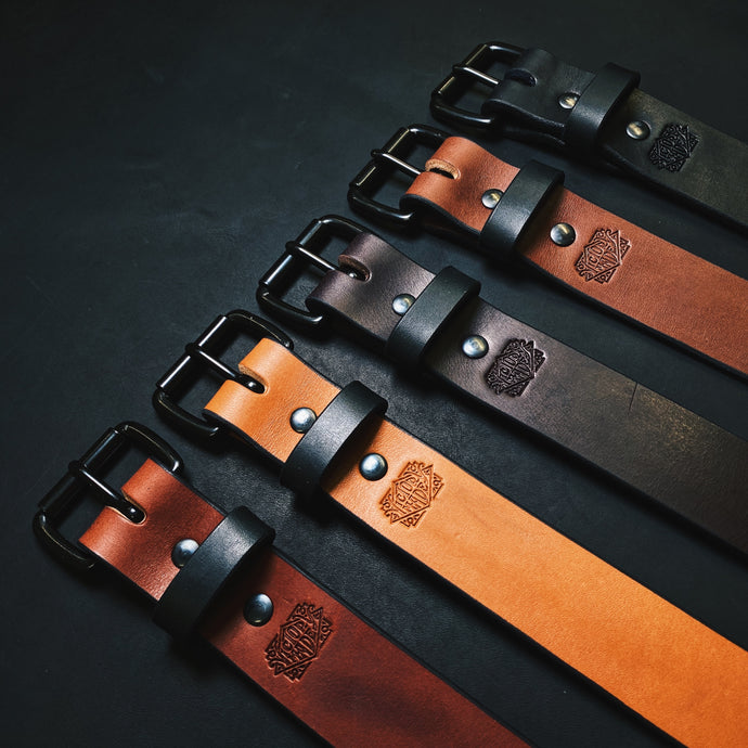 FLAGSHIP ENGLISH BRIDLE LEATHER BELT