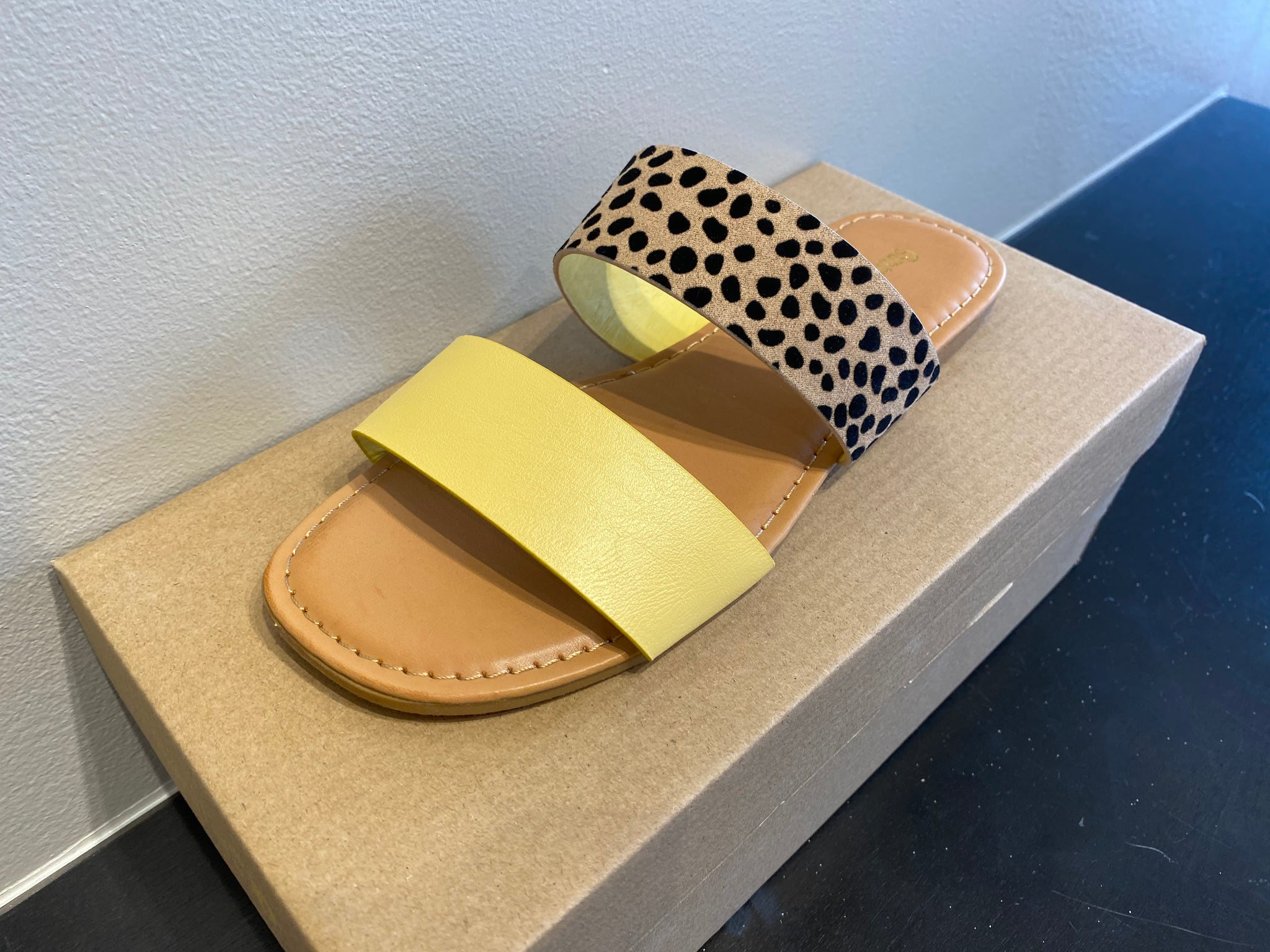 Sunshine & Animal Print Sandals