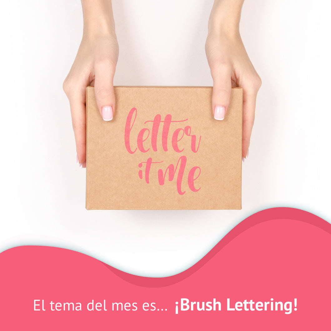 Kit Letter It Me Pack 3 Meses