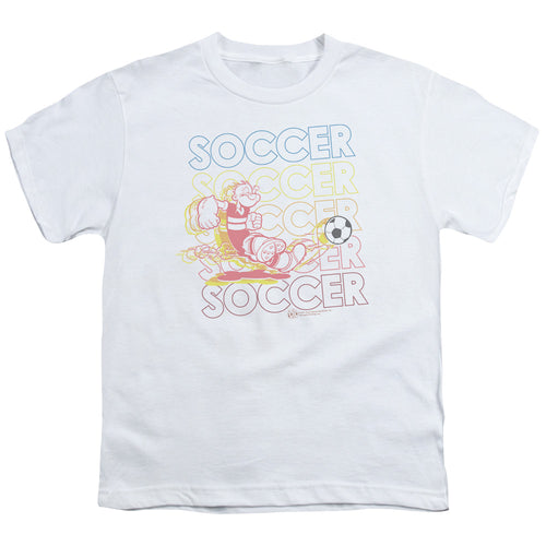 Popeye - Soccer Short Sleeve Youth 18/1