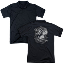 Popeye - Anchors Away (Back Print) Mens Regular Fit Polo