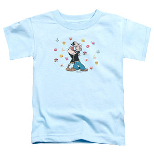 Popeye - Love Icons Short Sleeve Toddler Tee