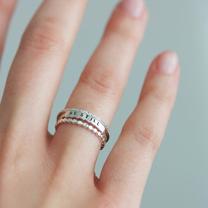 behind the stack | THE ESSENTIAL RING STACK