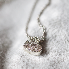 Diamond Dusted Conversation Heart