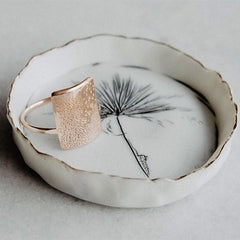 young porcelain ring dish
