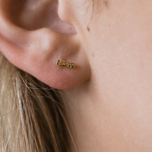 COLUMN STUD EARRINGS