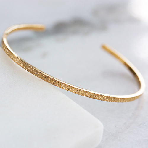 DIAMOND DUSTED NARROW CUFF