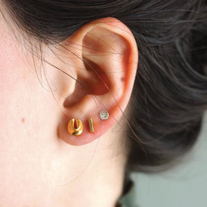 FORTUNE COOKIE STUDS