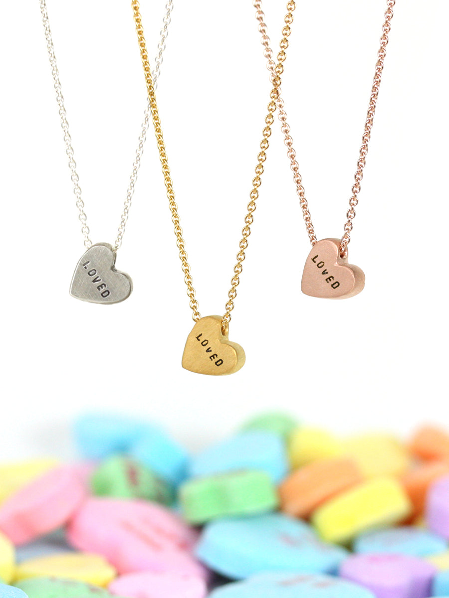 archive | CONVERSATION HEART NECKLACE