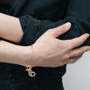 LINKED BANGLE