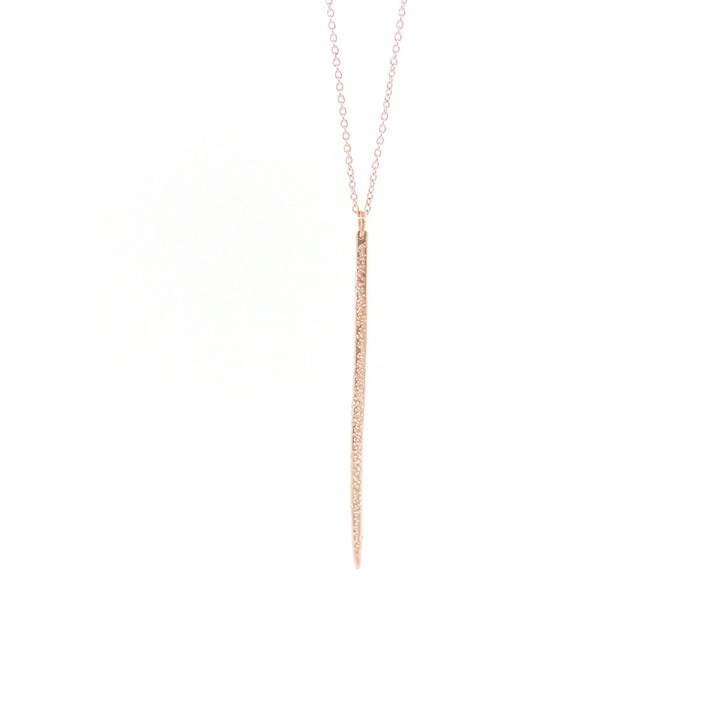 archive | DIAMOND DUSTED LONG SPIKE NECKLACE