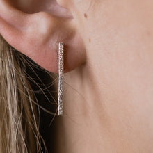 COLUMN DROP EARRINGS