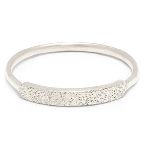 DIAMOND DUSTED NARROW RING