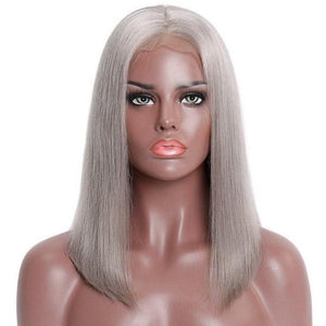 "Ash Blonde Lace Front Wig 8""-14"" 130% Density"